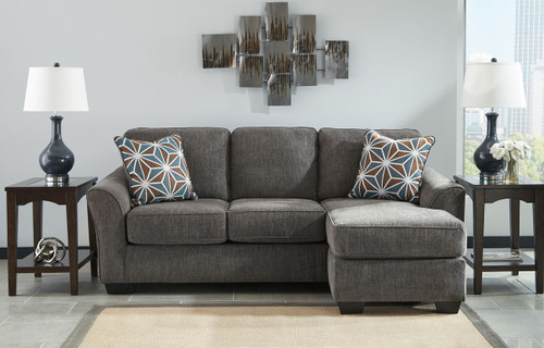 Stupendous The Braxlin Charcoal Sofa Chaise Available At Barnett And Onthecornerstone Fun Painted Chair Ideas Images Onthecornerstoneorg