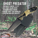 Ghost Predator Fixed Blade