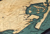 Brooklyn Wood Nautical Chart