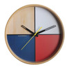 Flor White Wall Clock