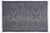 Indigo Batik Cotton 4x6 Rug