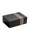 Grey Jewelry Valet Box