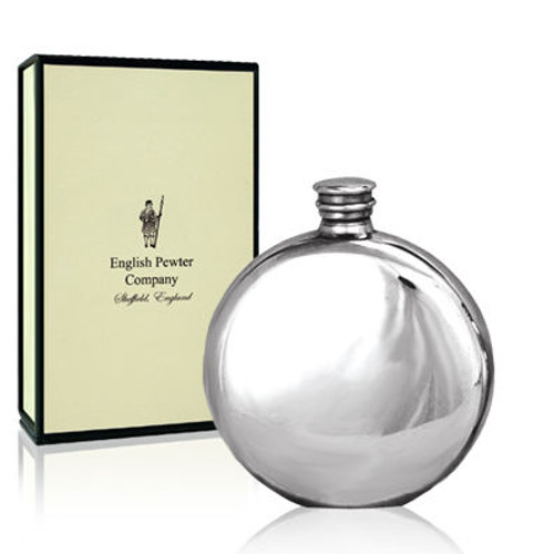 Round Stainless Steel Flask