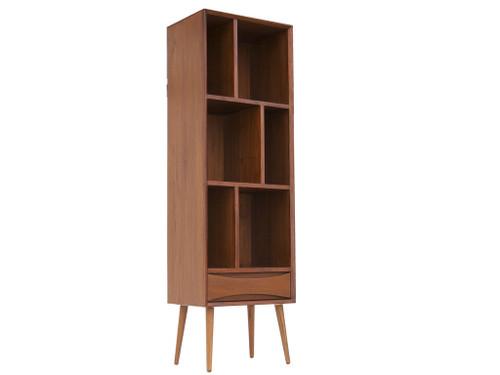 Mid Century Style Teak Bookcase