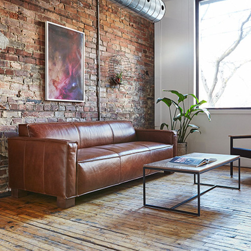 Cabot Leather Sofa by Gus Modern