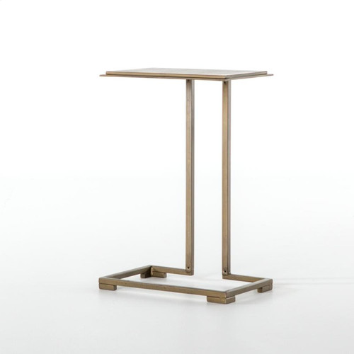 Etched-Top Side Table