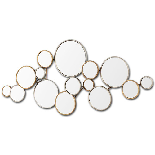 Multi-Circle Wall Mirror