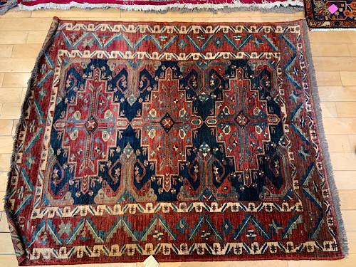 Vintage Oriental Rug 67