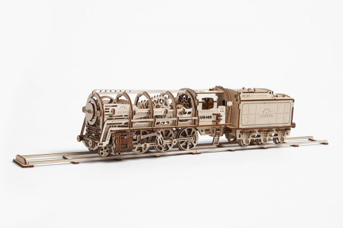 UGears Locomotive Mechanical Kit