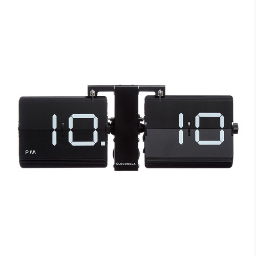 Black Flip Clock