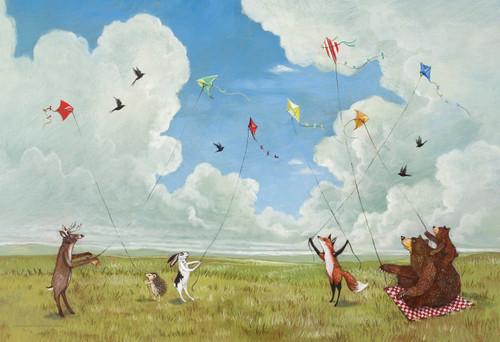 Kite Party Puzzle (100 PCS)