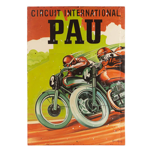 Circuit International Pau Motorbike