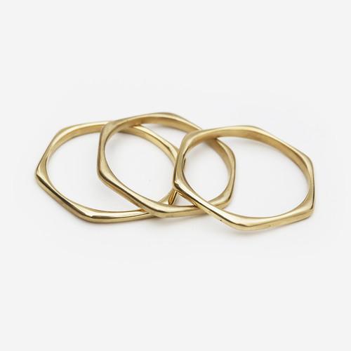 Pembe Brass Ring