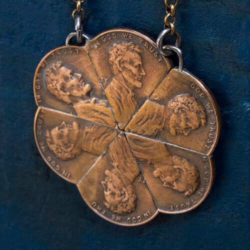 Abe Pinwheel Necklace