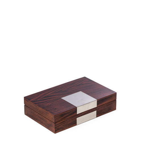 Lacquered Jewelry Valet Box - 2 Finishes