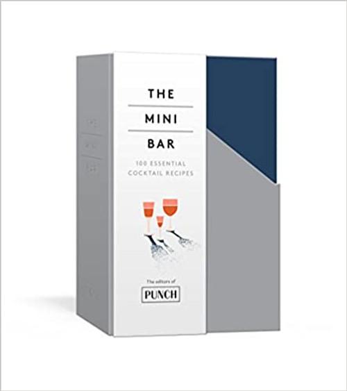 The Mini Cocktail Bar  - set of 8 books