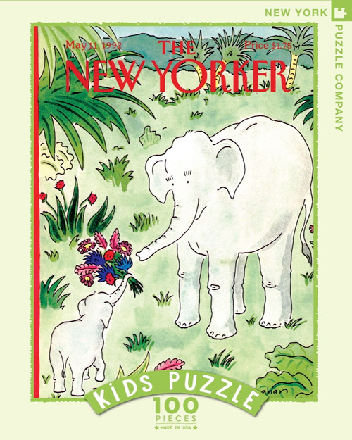 Flowers for Mama New Yorker Kids Puzzle