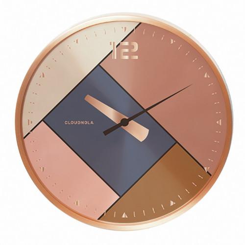 Rubik Rose Gold Wall Clock