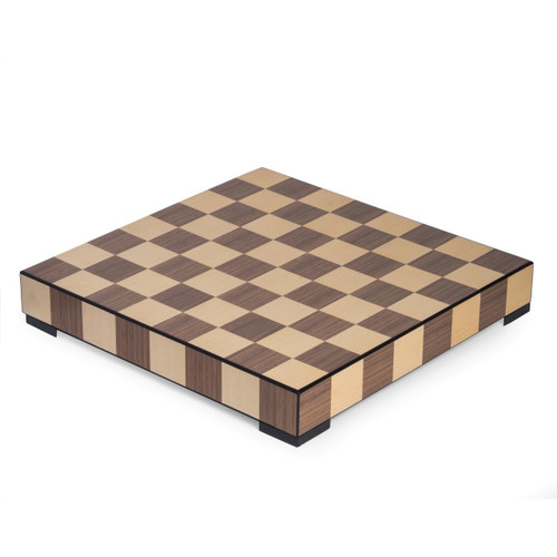 Chess and Checkers Set with Storage Drawer