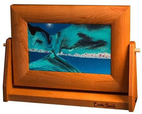 Small Alder Wood Framed Sand Art