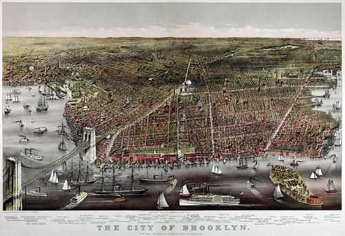 City of Brooklyn Map
