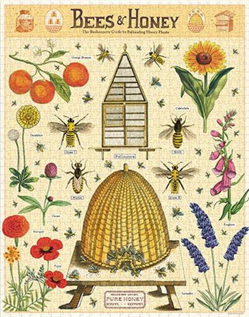 Bees & Honey 1,000 Piece Puzzle