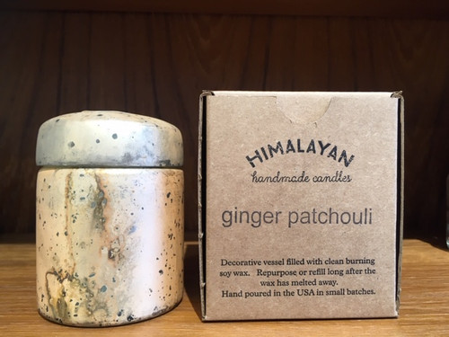 Ginger Patchouli Soy Candle