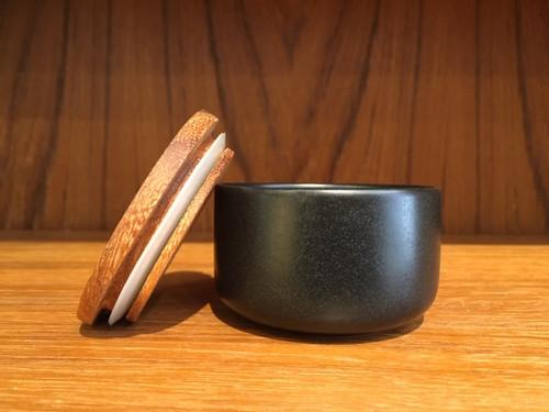 Mini Charcoal Ceramic Canister