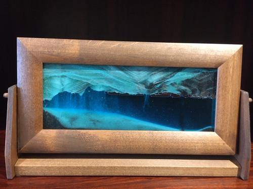 7 x 12 Alder wood Framed Sand Art