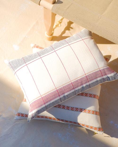 Anna Handwoven Pillow & Insert