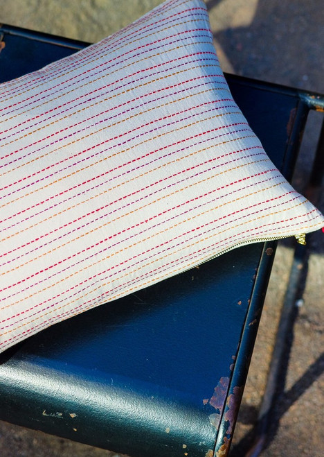 Amrita Handwoven Pillow & Insert