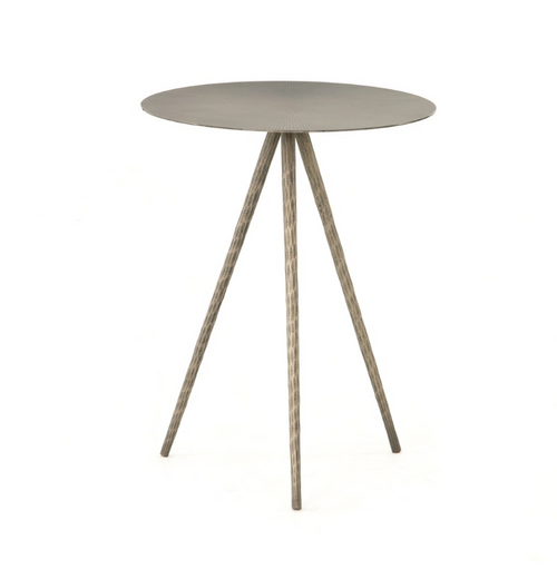 Sunburst Top Side Table