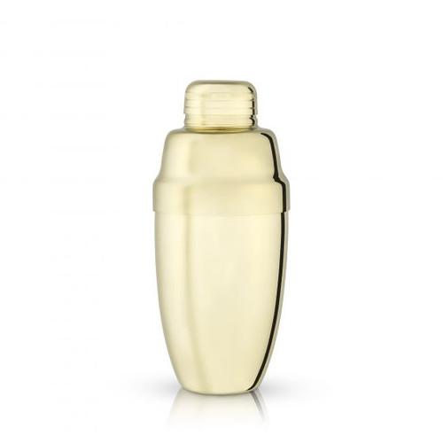 Heavyweight Gold Cocktail Shaker