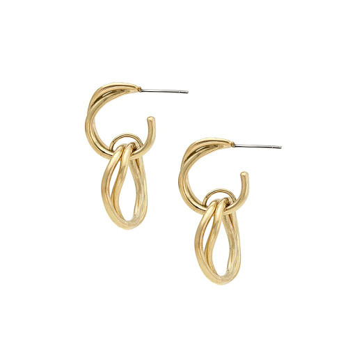 Nia Linking Circles Earrings