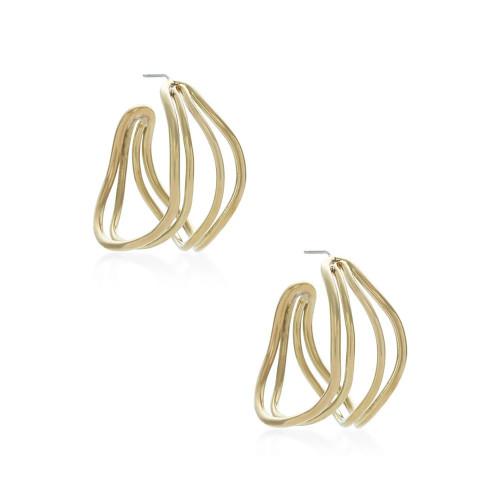 Wavy Strand Earring
