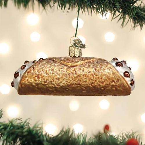 Cannoli Ornament