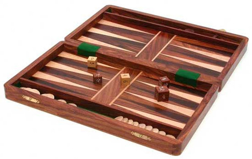 "12"" x 12"" Backgammon"