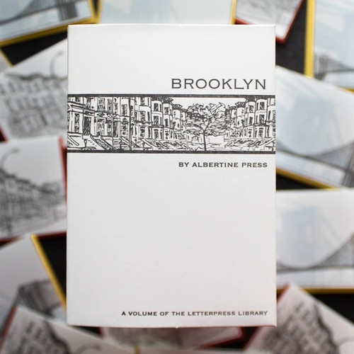 Set of 8 Brooklyn Letterpress Notecards