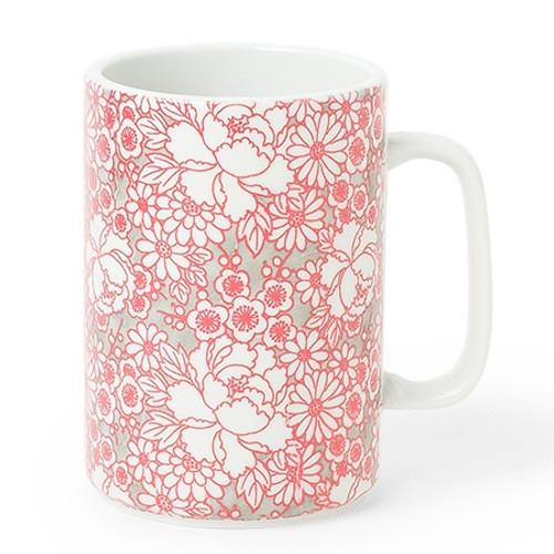 Red Yuzen Mug