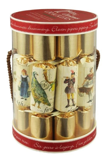 12 Days of Christmas Crackers - set of 12