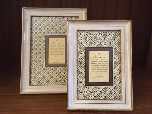 Ravenna Creme Frames - 2 Sizes