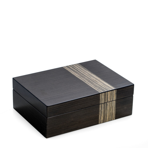 Grey Jewelry Valet Box
