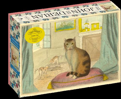 John Derian Calm Cat Puzzle