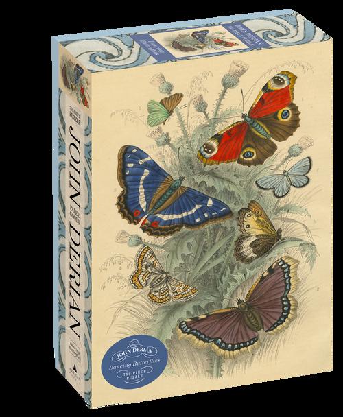 John Derian Dancing Butterflies Puzzle