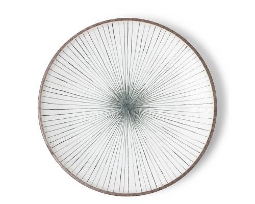 """10"""" Gray Tokusa Plate"""