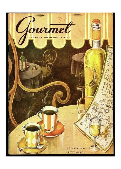 Gourmet Magazine Italian Cafe Puzzle