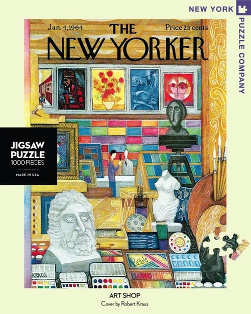Art Shop New Yorker Cover Puzzle