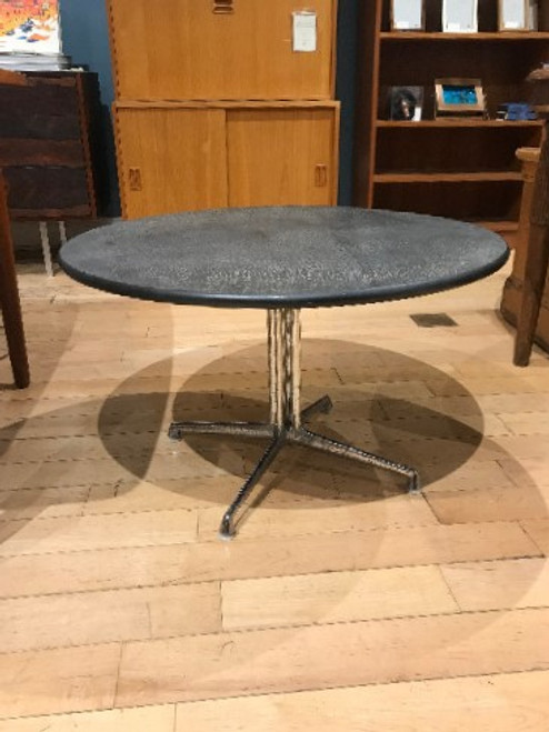 Vintage Hermann Miller Slate and Chrome Coffee Table
