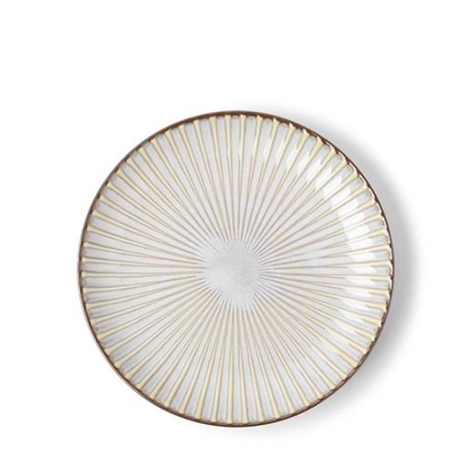 "Aiya Ivory 6.5"" Plate"