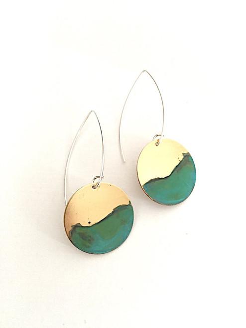 Ocean Tide Dangle Earrings